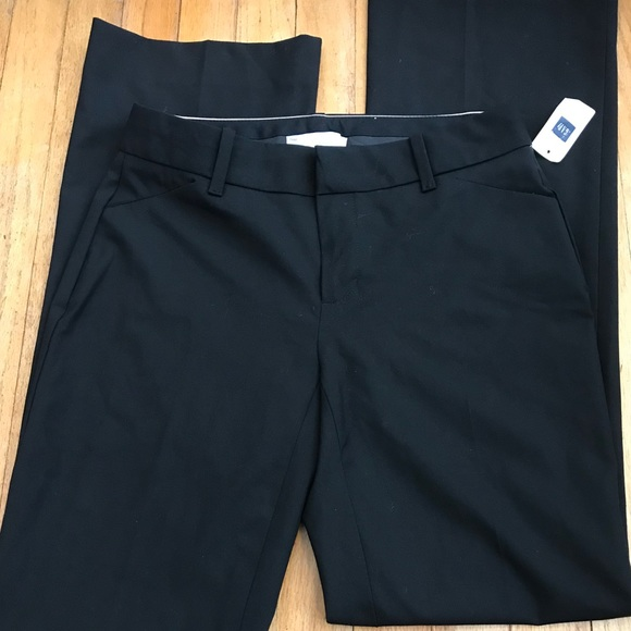 ceed4cfd435 GAP Pants - GAP Modern Black Trouser Stretch Slacks size 0R